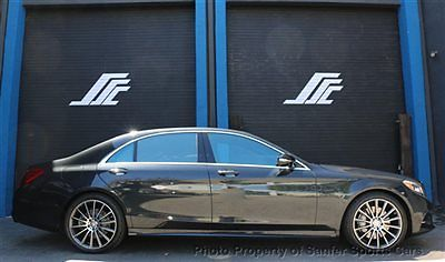 Mercedes-Benz : S-Class S550 AMG SPORT 15 s 550 amg sport driver assist 20 amg wheel surround camera financing trades
