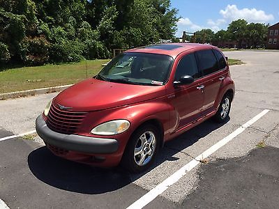 Chrysler : PT Cruiser Limited Wagon 4-Door 2002 chrysler pt cruiser