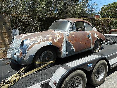 Porsche : 356 356 1962 porsche 356 barnfind