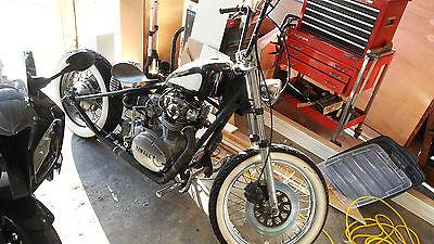 Custom Built Motorcycles : Bobber 1980 yamaha xs 650 rephased 650 bobber custom peanut tank chopper
