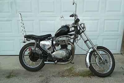 BSA BSA Firebird Scrambler Motorcycle, 1969
