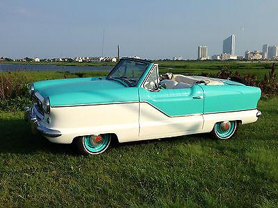 Nash : Metropolitan Convertible 1962 nash metropolitan convertible