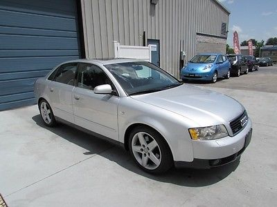 Audi : A4 3.0L V6 Quattro AWD Sedan 2002 audi a 4 3.0 v 6 quattro awd sunroof leather 25 mpg automatic 02 knoxville tn