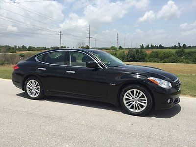 Infiniti : M35 M35H Hybrid RARE 2012 infinity m 35 h hybrid rare lane assist clean loaded 38 k miles nav xm 27 mpg