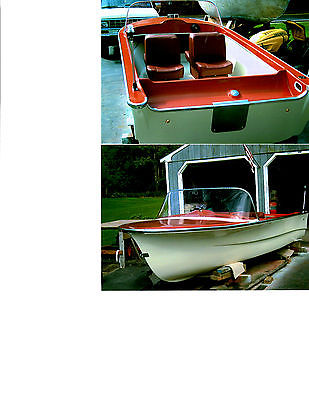 Rare 1960 Alumicraft Skisher Runabout restoration.