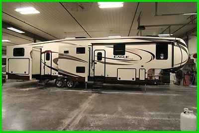 2015 Jayco Eagle Premier 375BHFS New quad slide bunkhouse 5th fifth wheel camper