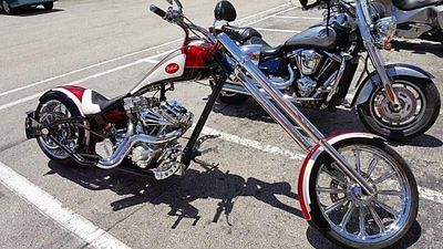 Other Makes : Rigid Dropseat 2006 pitbull custom rigid dropseat chopper 864 hours chrome led