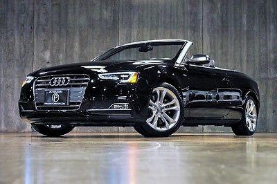 Audi : S5 Premium Plus 2014 audi s 5 cabriolet 3.0 t premium plus 1 owner navigation perfect