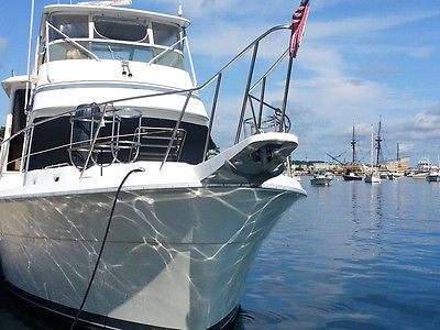 1986 Gulfstar 49' ft. Motor Yacht - All new running gear - Live-aboard ready!