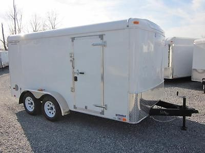NEW REDUCED 14 UNITED 7' X 14' ENCLOSED CARGO TRAILER DOUBLE DOORS