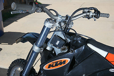 KTM : SX 2001 ktm 520 sx street legal dirtbike