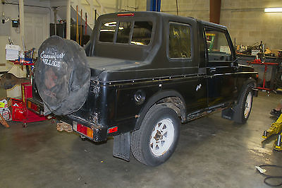 Suzuki : Samurai Convertible Hardtop 1985 suzuki samurai 4 x 4 narrow track long wheel base lwb rare