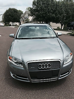 Audi : A4 Luxury Sedan 4-Door Audi Quattro 2005 - Grey Turbo One Owner (retired widow) Excellent Condition