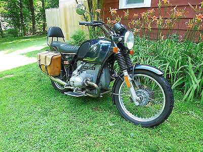 BMW : R-Series BMW Motorcycle 1976 R90/6 Custom saddle bags $4,350.00 Parts bike included