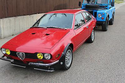 Alfa Romeo : Other GT Coupe 2-Door 1976 alfa romeo alfetta gt coupe 2 door 2.0 l