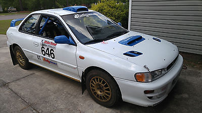 Subaru : Impreza 2.5 RS 2000 subaru impreza rs pgt professional rally car gc 8 group n
