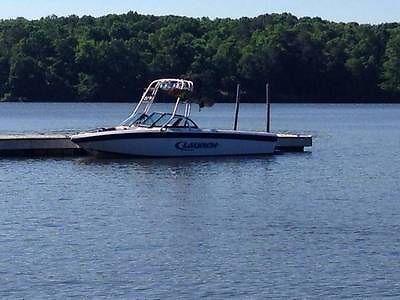 2000 21' Open Bow Supra Launch Wakeboard Boat