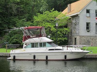 1985 Searay 340 Sedan Bridge, twin 454's, gen, upper/lower helms, fresh water