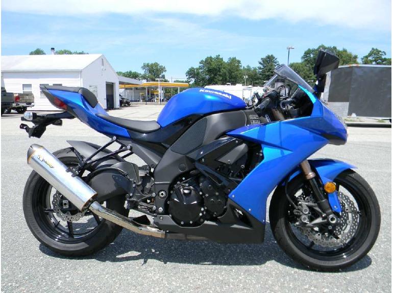 2008 blue zx10r motorcycles for sale Ninja ZX10 2008 kawasaki ninja zx 10r