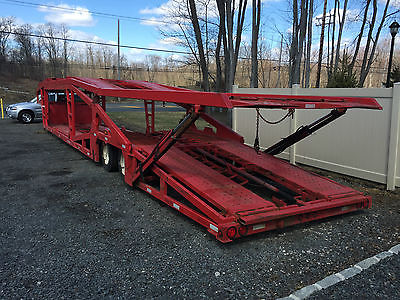 1999-2000 Sun Valley 7 car hauler 12,000 LB Winch Not cottrell miller carrier