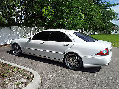 Mercedes-Benz : S-Class 2001 s 430 custom lorinser suede s 500 s 600 s 65 s 55 super clean