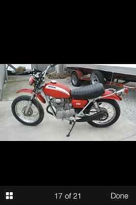 Honda : Other 1971 honda sl 350 red motorcycle vintage and restored must see