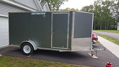 12X6.5X6 Foot Thule Discovery Utility Trailer - All Aluminum
