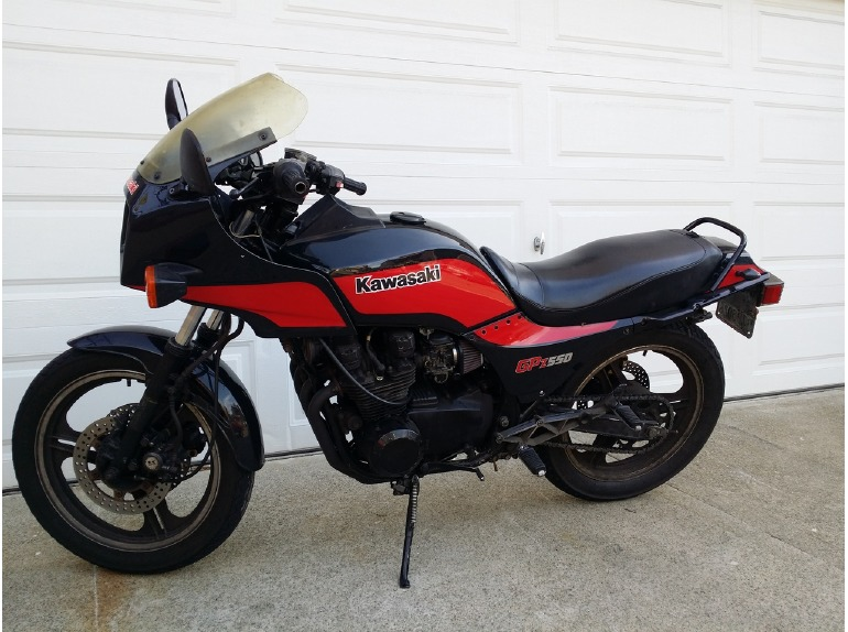 1985 Kawasaki Gpz 550