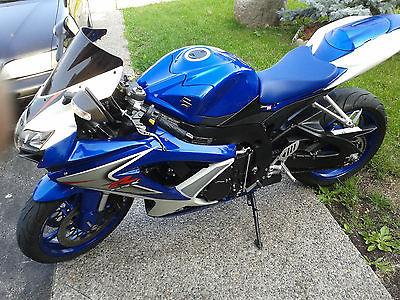 Suzuki : GSX-R Suzuki GSXR-600 year 2008