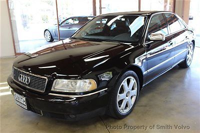 Audi : S8 4dr Sedan Quattro AWD Automatic 2001 audi s 8 1 owner alcantara package with sport seats