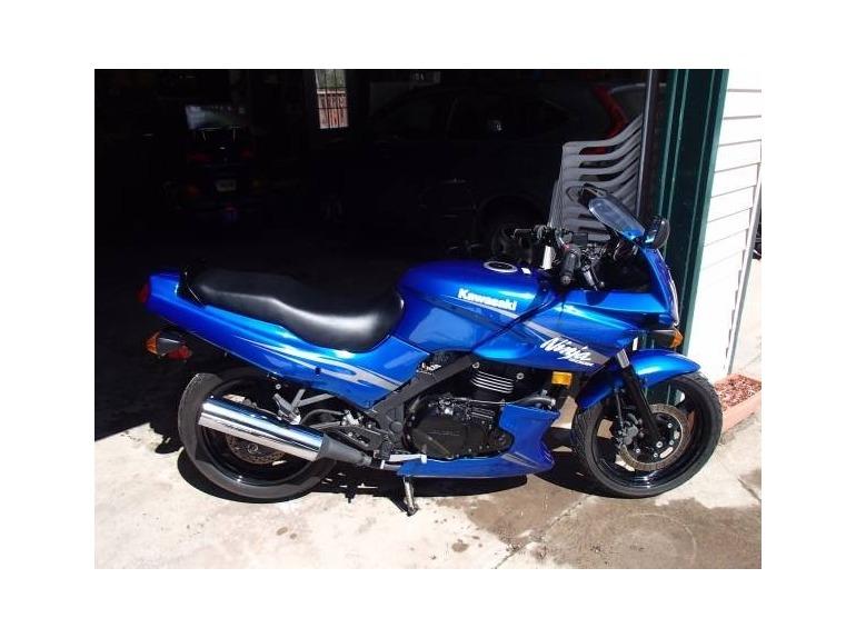Blue Kawasaki Ninja 500 Motorcycles For Sale