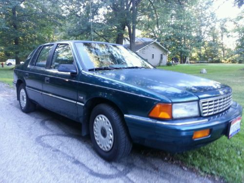 Plymouth : Acclaim Base Sedan 4-Door 1995 plymouth acclaim 76 k v 6 3.0