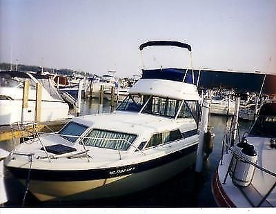 1983 Chris Craft Catalina With Flybridge Twin Engine 29'10