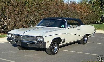 Buick : Skylark Convertible, Custom 1969 buick skylark convertible rag top