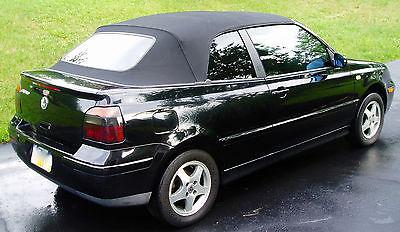 Volkswagen : Cabrio 2000 vw cabrio gls convertible
