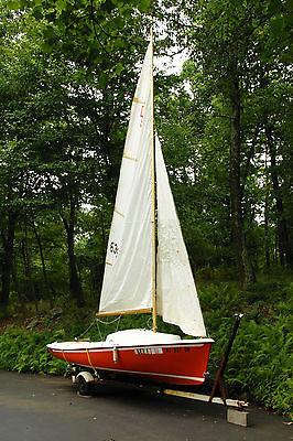 O'Day Daysailer-II 17ft Sailboat and Trailer