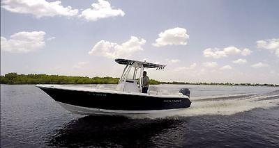 2014 Sea Hunt Triton 210 Center Console Yamaha 150 H.P.video