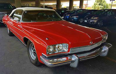 Buick : Other CVT 1973 buick centurian