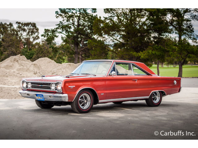 Plymouth : GTX Hemi Real 426 Hemi 32k Miles Excellent Driver Rare Show Car
