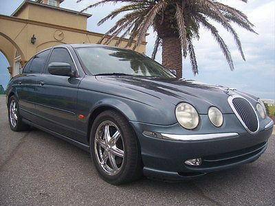 Jaguar : S-Type 108,000 miles green 2001 jaguar s type bogo