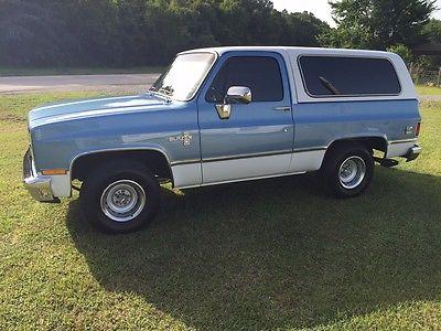 Chevrolet : Blazer Custom Sport Utility 2-Door 1981 chevrolet k 5 blazer custom sport utility 2 door 5.7 l