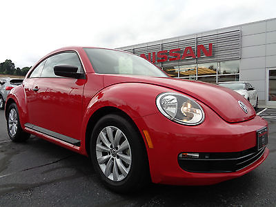 Volkswagen : Beetle-New 1.8T Hatchback Automatic Heated Seats Red 2015 vw beetle 1.8 t automatic red heated seats clean carfax one owner video