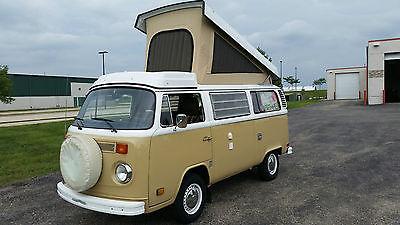 Volkswagen : Bus/Vanagon 1978 vw wesfalia camper