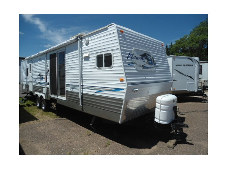 Nomad Rv Travel Trailers With King Size Bed