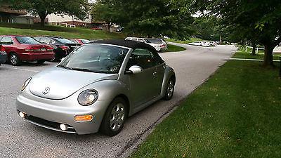 Volkswagen : Beetle-New GLS 2003 vw new beetle convertible