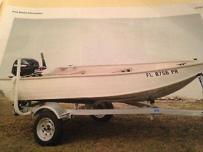 2014 Lowe Dinghy with 2013 20 HP Mercury 4 Stroke outboard