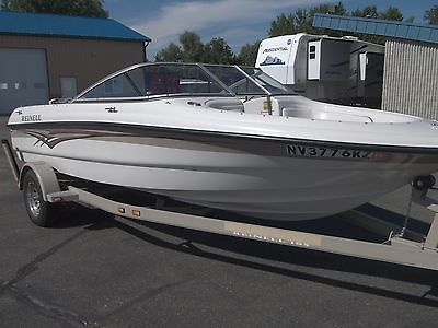 2007 REINELL 185 OPEN BOW RUNABOUT FAMILY BOAT WITH 190HP VOLVO PENTA 4.3 V6 ENG