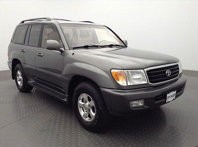 Toyota : Land Cruiser 4WD 4D SUV 2001 toyota 4 wd 4 d suv
