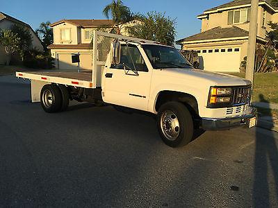 GMC : Sierra 3500 Heavy Duty GMC 3500HD Sierra 12' flatbed truck
