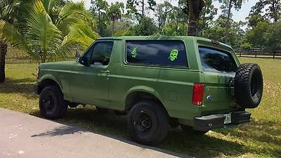 Ford : Bronco XL Sport Utility 2-Door 1994 ford bronco xl sport utility 2 door 5.0 l